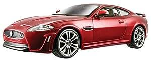 Bburago - Plus Jaguar XKR-S, escala 1:24 (18-21063), color Rojo
