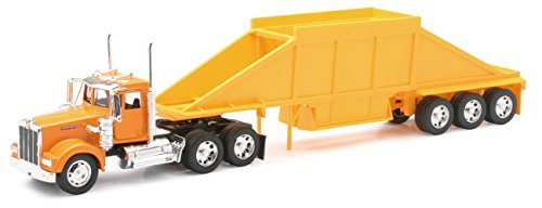 Kenworth W900 Belly Dump Truck - Diecast Truck Replica - 1:32 Scale