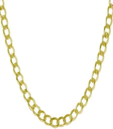 14K Solid Yellow Gold 7.0mm Thick Heavyweight Cuban Curb Link Chain Bracelet/Necklace