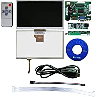 Bosstouch 7 Inch LCD Touch Screen Display TFT Monitor AT070TN90 with Touchscreen Kit HDMI VGA Input Driver Board for Raspberry Pi