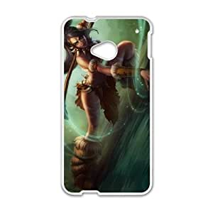 HTC One M7 Cell Phone Case White League of Legends Nidalee 0 VB6997747