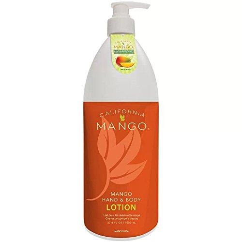 California Mango Lotion 33.8 fl oz (1000 ml) w/pump, 33.8 Ounce