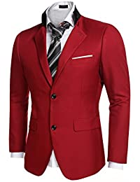 Amazon.com: Red - Suits & Sport Coats / Clothing: Clothing, Shoes