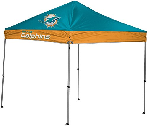 Rawlings NFL Instant Pop-Up Canopy Tent with Carrying Case, -