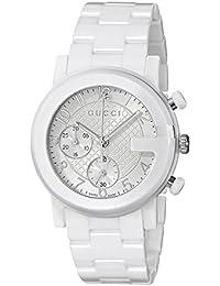 Chrono Collection Analog Display Swiss Quartz White Men's Watch(Model:YA101353)