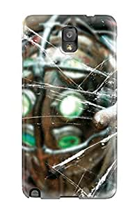 Premium Durable Bioshock Artistic Glass Hand Abstract Artistic Fashion PC For Case Iphone 6 4.7inch Cover Protective