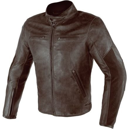 Dainese Stripes (Dainese Stripes D1 Perforated Leather Jacket (DARK BROWN/DARK BROWN))