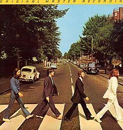 The Beatles Abbey Road Mobile Fidelity Sound Lab VINYL LP Record Album