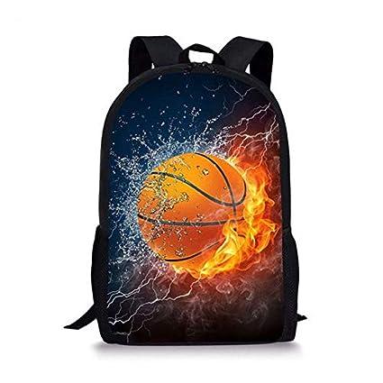 XTYZY Mochila Escolar Baloncesto Juventud Mochila Para Estudiantes ...