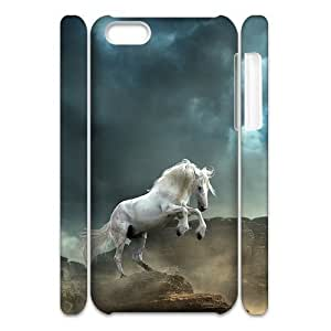 linJUN FENGHorse Running Customized 3D Cover Case for iphone 4/4s,custom phone case ygtg522165