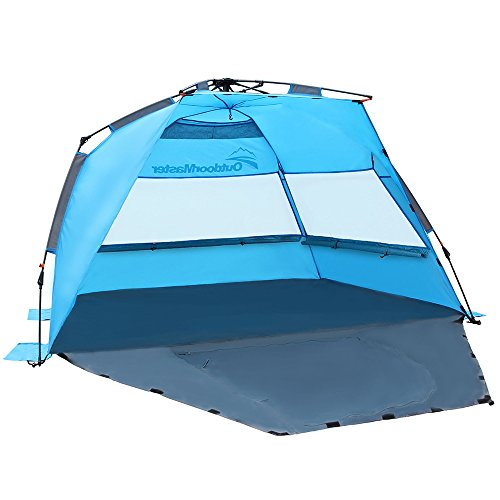 OutdoorMaster Pop Up Beach Tent - Easy to Set Up Portable Sun Shade for Kids  sc 1 st  Mom Loves Best : beach tents for infants - memphite.com