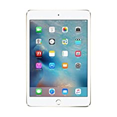 Apple iPad Mini 4 MK6L2LL/A 7.9-Inch, 16GB, Wi-Fi, iOS 9, Gold