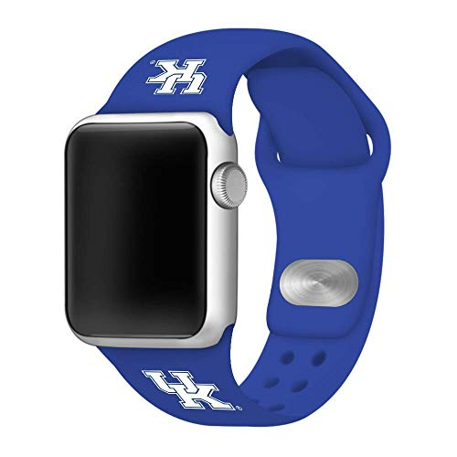 Affinity Bands Kentucky Wildcats Blue Silicone Sport Band Compatible with Apple Watch - Band ONLY (42mm/44mm Blue)]()
