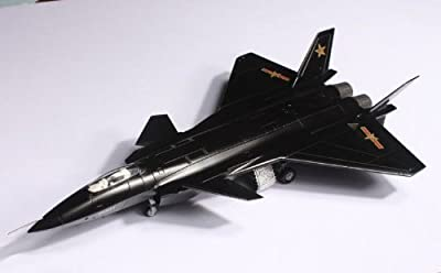 J-20 China J20 Stealth Combat Fighter Plane Aircraft 1/72 Model Metal Alloy for Christmas Gift Plane Model Plane Toy