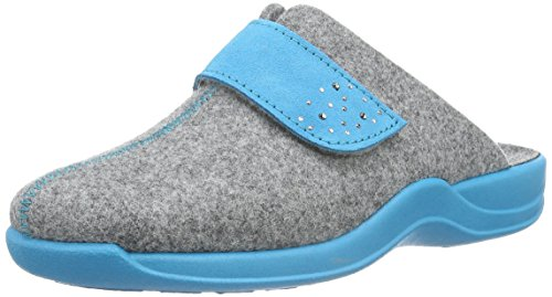 Rohde Damen Vaasa-d Pantoffeln Grau (Grau 80)