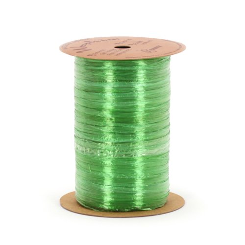 Berwick Wraphia Pearlized Rayon Craft Ribbon, 100-Yard Spool, Apple - Pearlized Ribbon Rayon Raffia