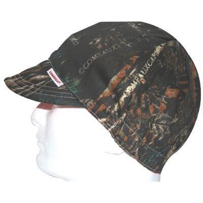 """Comeaux Caps 118-2000-C-7-1/8 Deep Round Crown Caps, 7 1/8"""", Camouflage"""