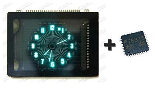 - FidgetFidget BOE VFD48-1202FN Round Clock VFD Dispaly Panel 1PCS+Drv Chip 1PCS-Nixie Tube ERA