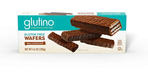 Gluten Free by Glutino Wafers, Luxuriously Delicious, Chocolate Flavor, 4.6 Ounce