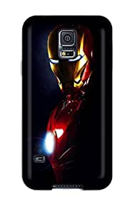 Durable Protector Case Cover With Iron Man Iphone Hot Design For Galaxy S5