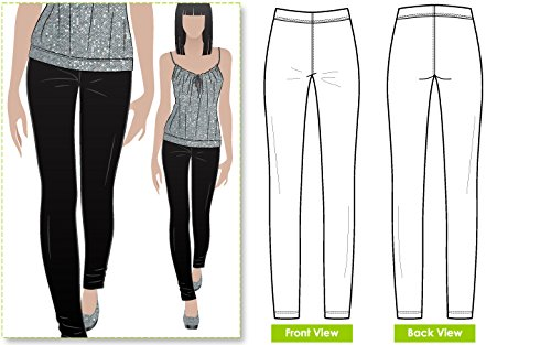 Style Arc Sewing Pattern - Elle Pant (Sizes 04-16) - Click for Other Sizes Available