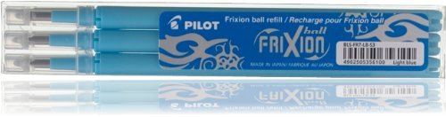 Pilot Pen Frixion 0.7mm Refill - Light Blue/ Turquoise
