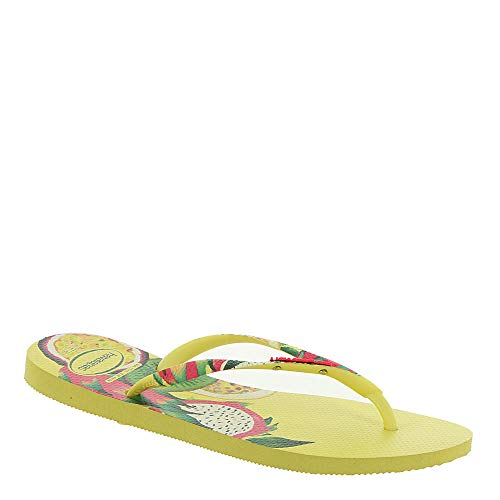 Havaianas Women's Slim Sensation Sandal Pollen Yellow 37-38 M ()