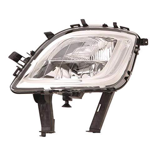 Left Passenger Side Front Fog Lamp Fog Light/Indicator Combination Lamp (Chrome Bezel):