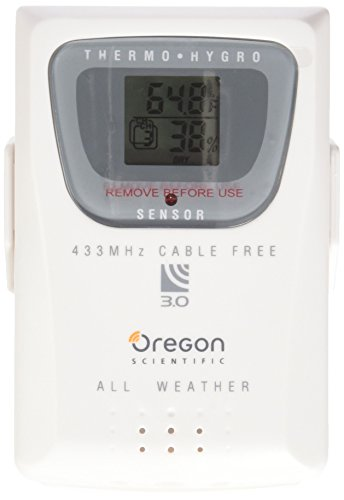 - Oregon Scientific THGR810 10-Channel Wireless Remote Thermometer/Humidity Sensor with 10 Channels for The WMR200, WMR100, and WMR90 Weather Stations