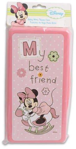 Disney Minnie Mouse Baby Wipe Holder 144 pcs sku# 1780621MA by DDI