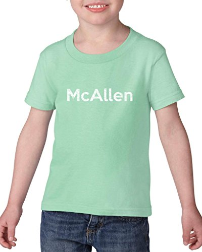 Ugo McAllen TX Texas Flag Houston Map Longhorns Bobcats Home Texas State University Heavy Cotton Toddler Kids T-Shirt - Mcallen Sports Tx Mcallen