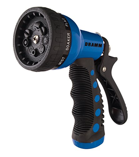 Dramm 12705  9-Pattern Revolver Spray Nozzle, Blue (Dramm Nozzle Fan)