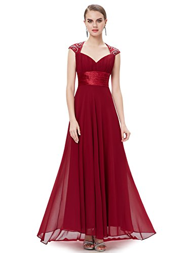 784dd8a6d79 Galleon - Ever-Pretty Womens Sleeveless V Neck Open Back Long Evening Gown  14 US Red