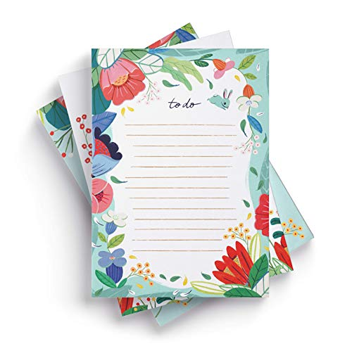 Ceibo Press To Do List Notepads (Set of 3) by Ana Sanfelippo