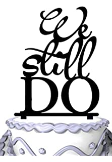 meijiafei we still do script wedding cake topper rustic wedding topper