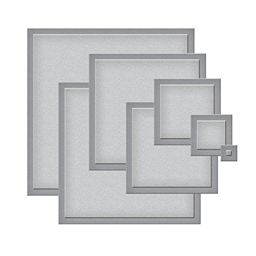 Spellbinders S4-128 Nestabilities Dies - Classic Squares Small Etched/Wafer Thin Dies Nestabilities Card