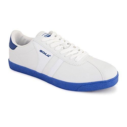 Gola - Zapatillas de tenis para hombre gris gris blanco/azul