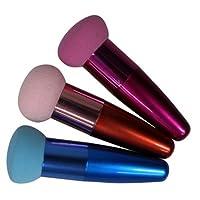 Brosse a fond de teint couleur aleatoire - TOOGOO(R)1pc Chic brosse a fond de teint a Creme pinceau de Maquillage brosses cosmetiques pour Liquide en eponge Brosse-couleur aleatoire