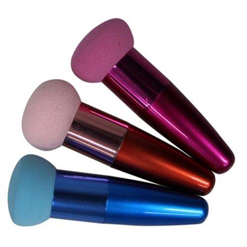 Grundierungspinsel - TOOGOO(R)1pcs Creme Grundierungspinsel Make-up Kosmetik Make-up Pinsel Fluessige Schwamm Pinsel-zufaellige Farbe SODIAL(R) SHOMAT11870