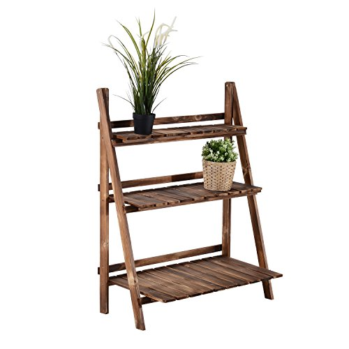 Outsunny Wooden 3 Tier Ladder Plant product image