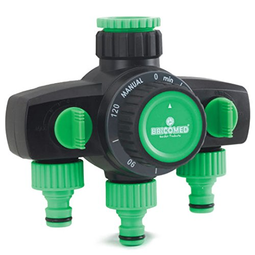 Bricomed r60033 Tap Timer, Green Water, 8 x 4 x 8 cm