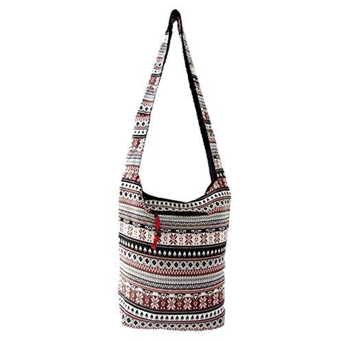 Native American Crossbody Bags for Women Southwest Aztec Bohemian Hippie Hobo Sling Medium (Daisy - American Bag West Hobo