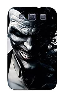 Ideal Gift - Tpu Shockproof/dirt-proof Joker Batman Arkham Origins Cover Case For Galaxy(s3) With Design