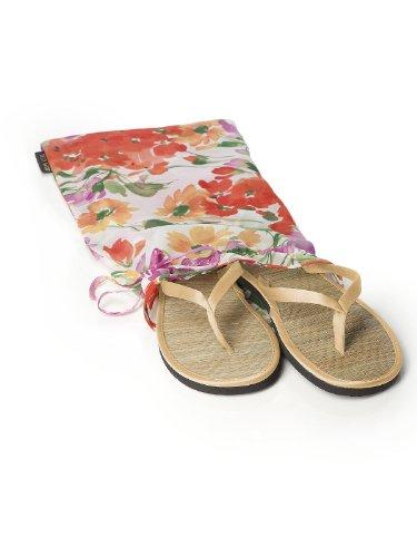 Dessy Womens Trimmed Flip Flops in Duchess Venetian Gold N2sY3P1r
