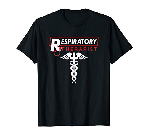 Unique Respiratory Therapist Caduceus Stethoscope RT Gift T-Shirt
