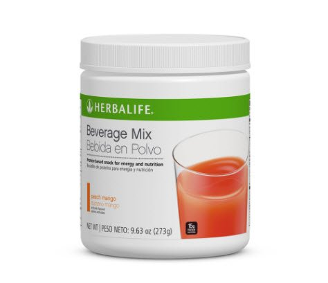 Herbalife Beverage Mix Canister, Peach Mango, 9.63 Oz