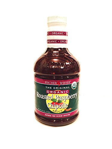 Organic Fischer and Wieser Razzpotle Roasted Raspberry Chipotle Sauce, 40-Ounce Bottle (Raspberry Sauce Roasted)