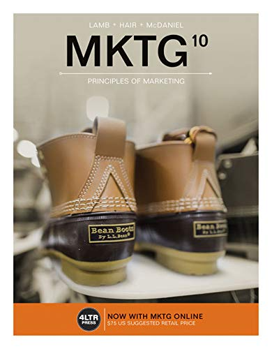 MKTG (with MKTG Online, 1 term (6 months) Printed Access Card) (New, Engaging Titles from 4LTR Press) ()