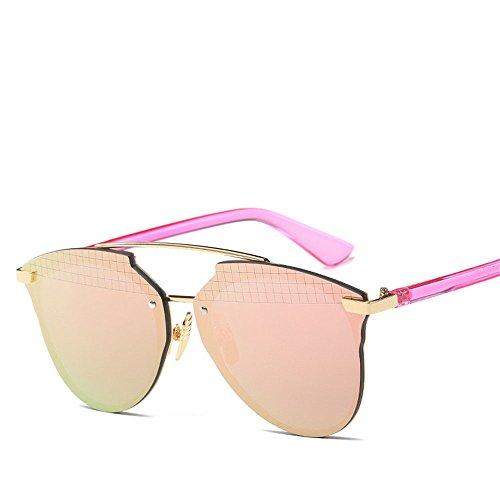 Chahua Le quartier branché de la mode lunettes lunettes de soleil Lunettes de soleil rétro lunettes Métal E
