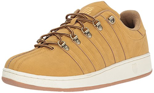 K-Swiss Men's Classic VN SE Sneaker Amber Gold/Antique White free shipping 2015 new countdown package cheap price big discount online under 70 dollars discounts for sale wZ4Tp5